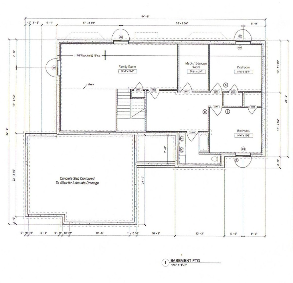 House plans 2 bedrooms downstairs upstairs for Upstairs floor plans