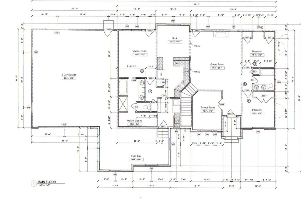 House Plans 2 Bedrooms Downstairs Upstairs